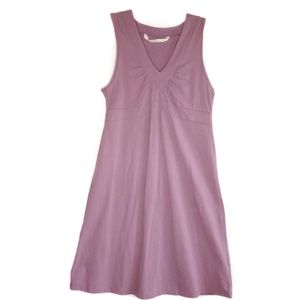 Athleta Lilac Senorita V Neck Sleeveless Dress M